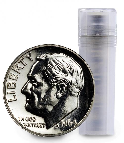 90% Silver Roosevelt Dime Gem Proof (Roll of 50)