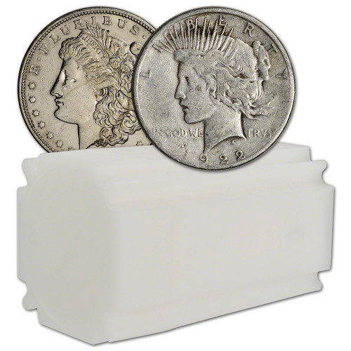Morgan and Peace Dollar Cull (Roll of 20)