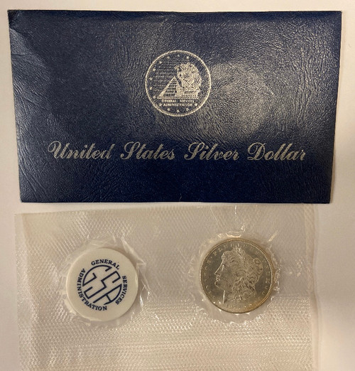 1878-CC Morgan Silver Dollar Brilliant Uncirculated (GSA Softpack)