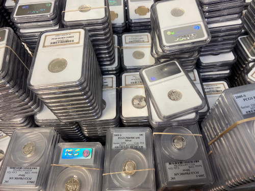 Silver Coin PCGS/NGC Certified - Midwest Hoard