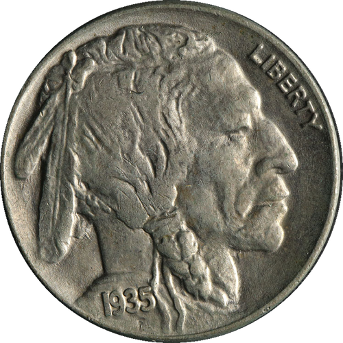 1935 Buffalo Nickel Circulated