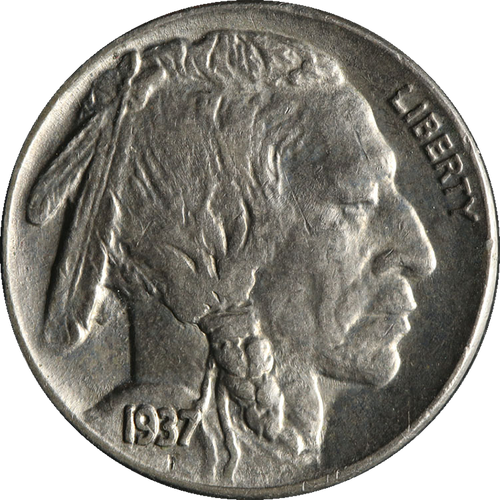 1937 Buffalo Nickel Circulated