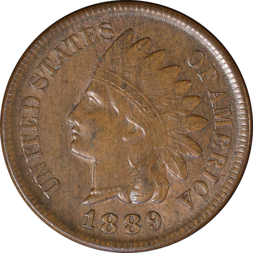 1889 Indian Head Penny - Circulated