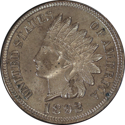 1892 Indian Head Penny - Circulated