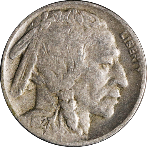 1927 Buffalo Nickel Circulated