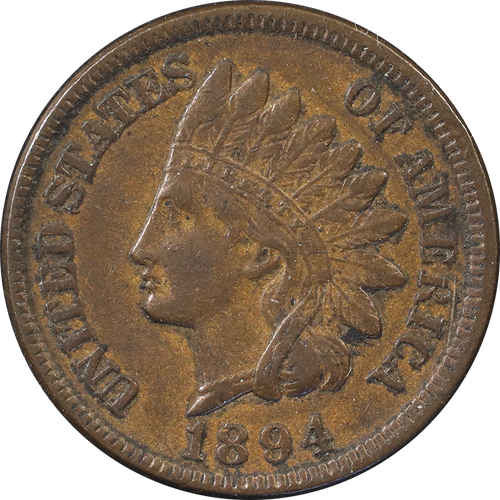 1894 Indian Head Penny - Circulated