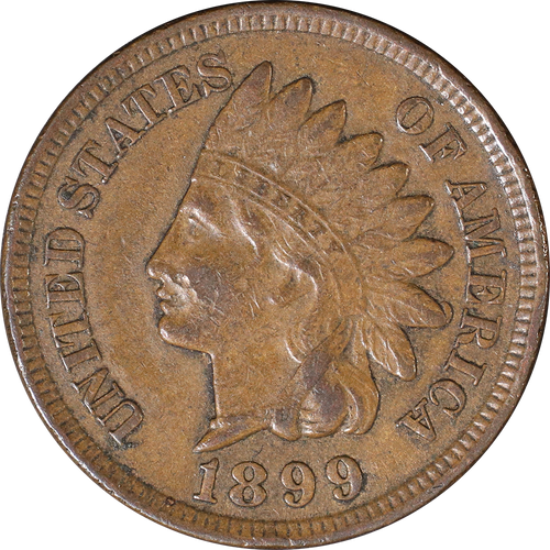 1899 Indian Head Penny - Circulated