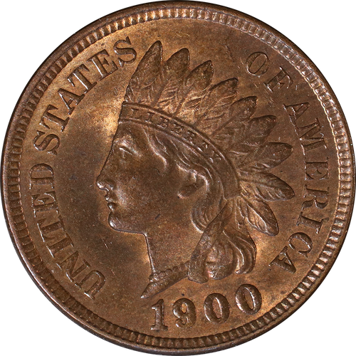1900 Indian Head Penny - Circulated