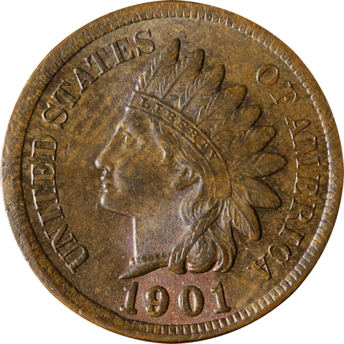 1901 Indian Head Penny - Circulated