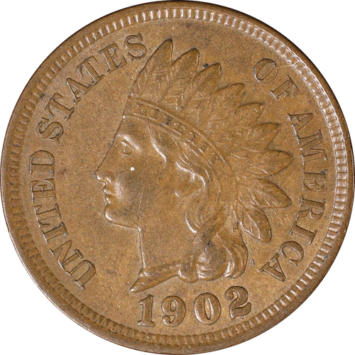 1902 Indian Head Penny - Circulated