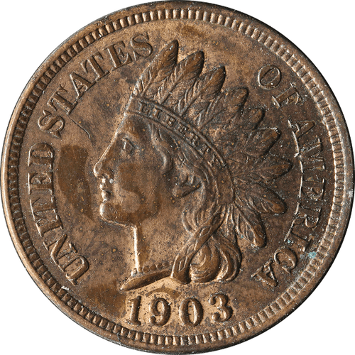 1903 Indian Head Penny - Circulated