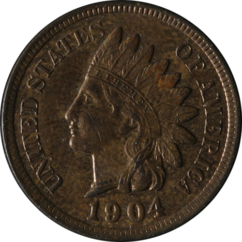 1904 Indian Head Penny - Circulated