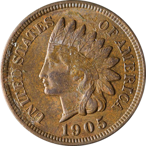 1905 Indian Head Penny - Circulated