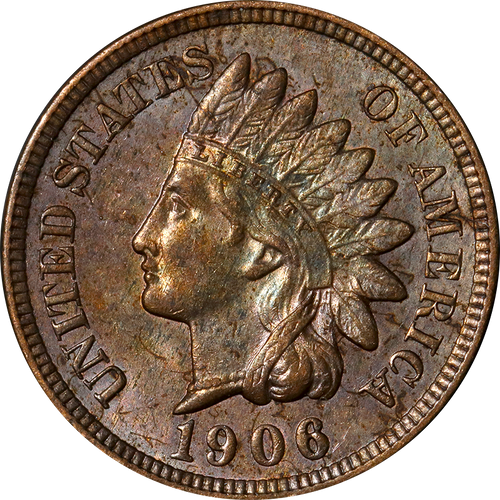 1906 Indian Head Penny - Circulated