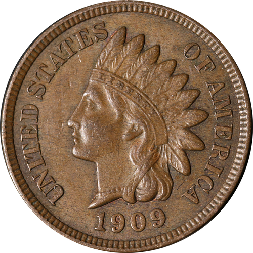 1909 Indian Head Penny - Circulated