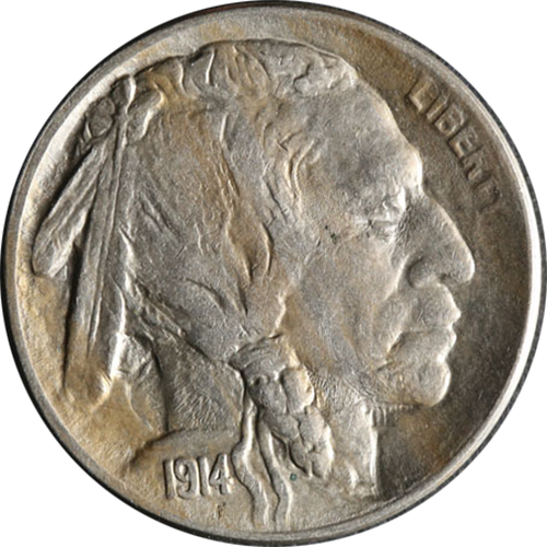 1914 Buffalo Nickel Circulated