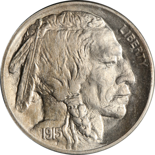 1915 Buffalo Nickel Circulated