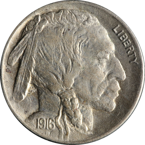 1916 Buffalo Nickel Circulated