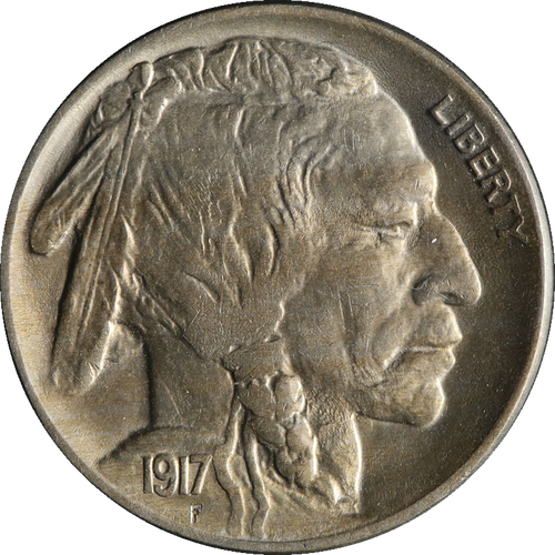 1917 Buffalo Nickel Circulated