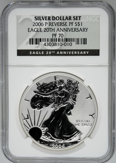 2006-P Reverse Proof Silver Eagle NGC Rev PF70
