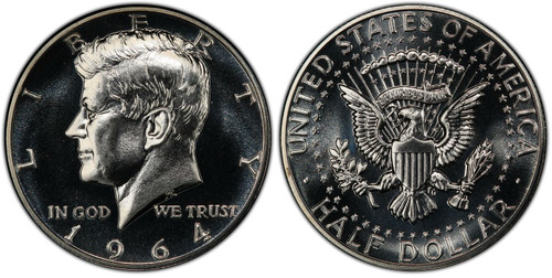 1964 Proof Kennedy Half Dollar - Choice Proof