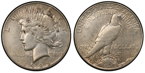 1928-S Peace Dollar - The Last Peace Dollar