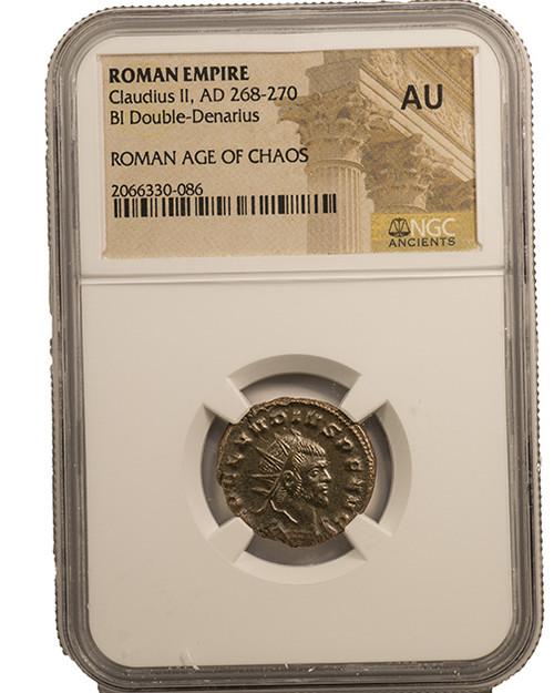 Roman AE of Claudius II Gothicus (AD 268-270) NGC (AU)