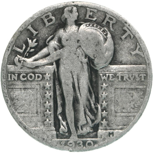 1930-P Standing Liberty Quarter - The Last Classic Quarter