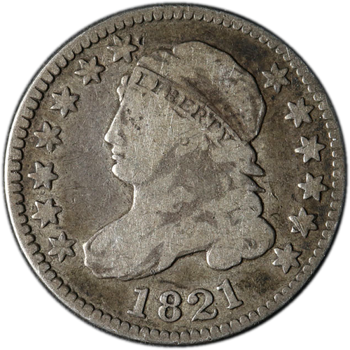 1809-1837 Capped Bust Dime - The First Dime