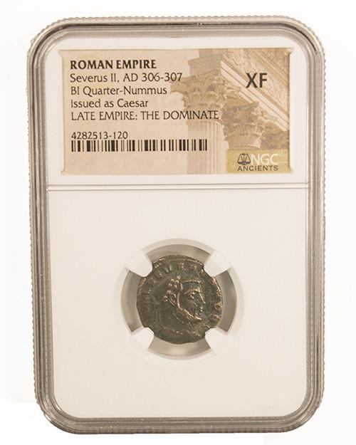 Roman AE of Severus II (306-307) NGC (XF)