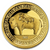 2021 Mongolia 1/2 gram Proof Gold Lunar Year of the Ox obverse