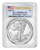2021-W Type 2 Proof Silver Eagle PCGS PR70 DCAM First Strike Flag Label obv