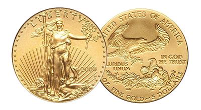 Burnished Gold Eagles