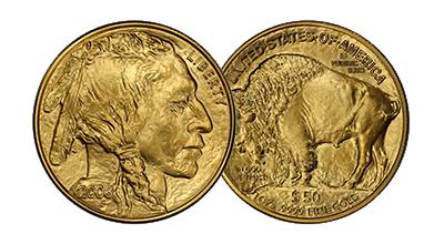 Mint State Gold Buffalos