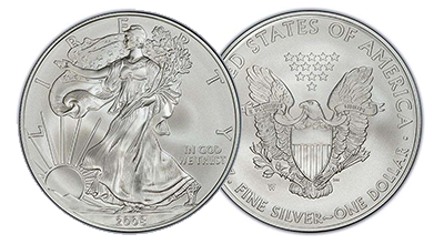 Mint State Silver Eagles