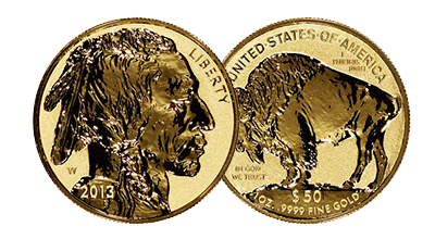 Proof Gold Buffalos