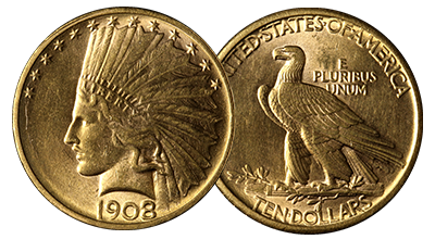 $10 Gold Indians