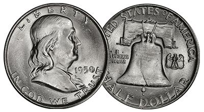 Uncertified Franklin Half Dollars