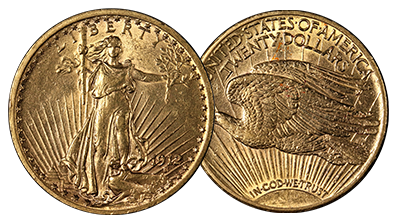$20 Saint Gaudens Double Eagle