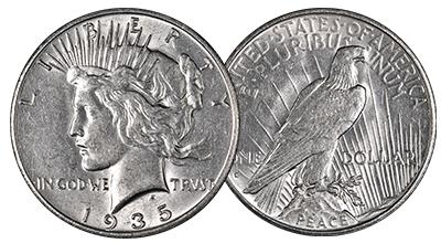 Uncertified Peace Dollars