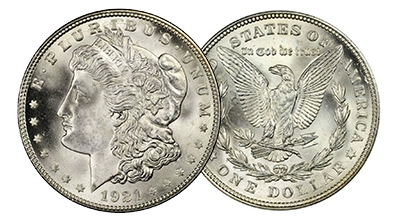 Common Date Morgan Dollars