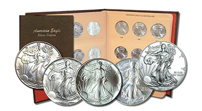 Silver Eagle Sets