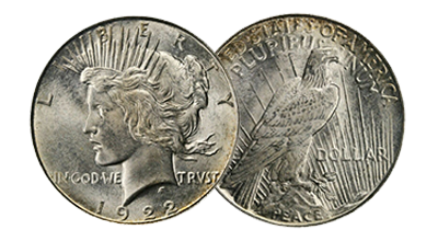 Common Date Peace Dollars