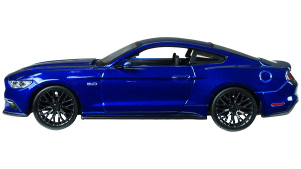 2015 Ford Mustang GT 5.0 Blue 1/24 Diecast Car Model by Maisto