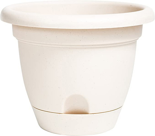 """10"""" Lucca Pot Taupe"""