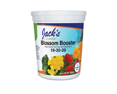 Jaw dropping baskets and planters start with Blossom Booster!