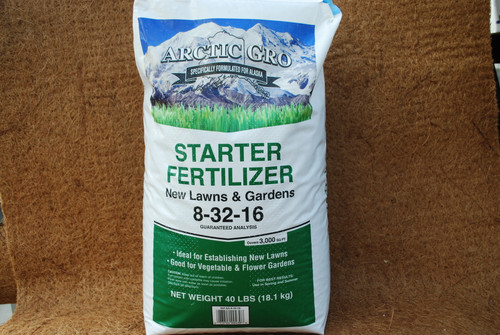 8-32-16 Arctic Gro New Lawn Starter & Fertilizer 40#
