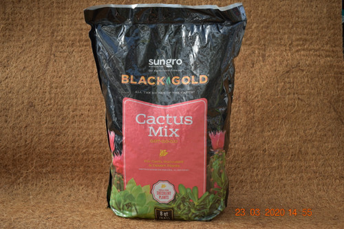 Designed to provide excellent drainage, Black Gold's Cactus mix is a great choice for cactus and succulents.