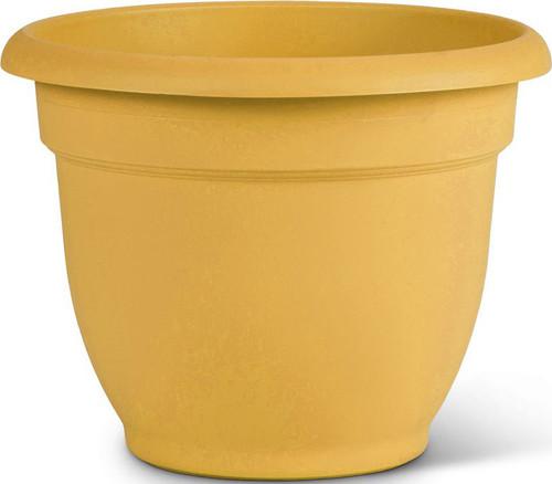 """10"""" Ariana Pot Earthy Yellow"""