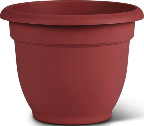 "10"" Ariana Pot Burnt Red"